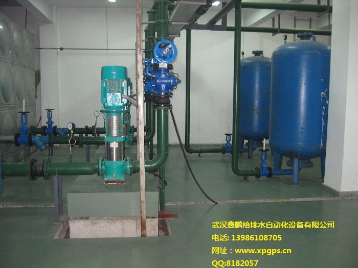 武汉医疗救治中心医院生活变频供水,空调补水,消防给水系统